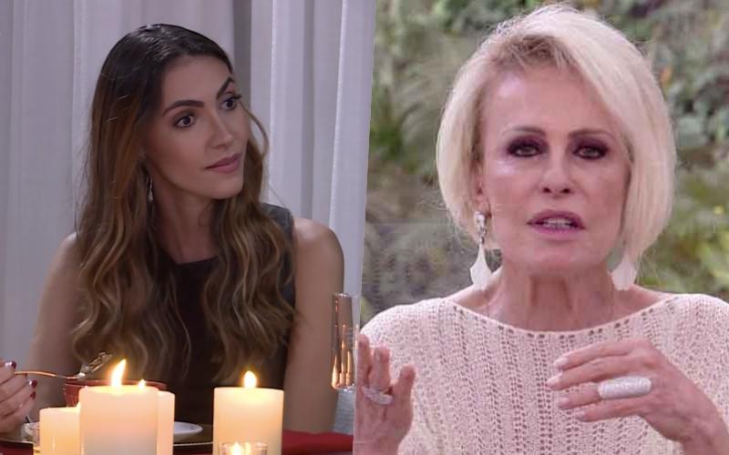 Ana Maria Braga humilha casal no Mais Você, da Globo e força eles a passarem por momentos tensos no dia dos namorados Foto: Reprodução