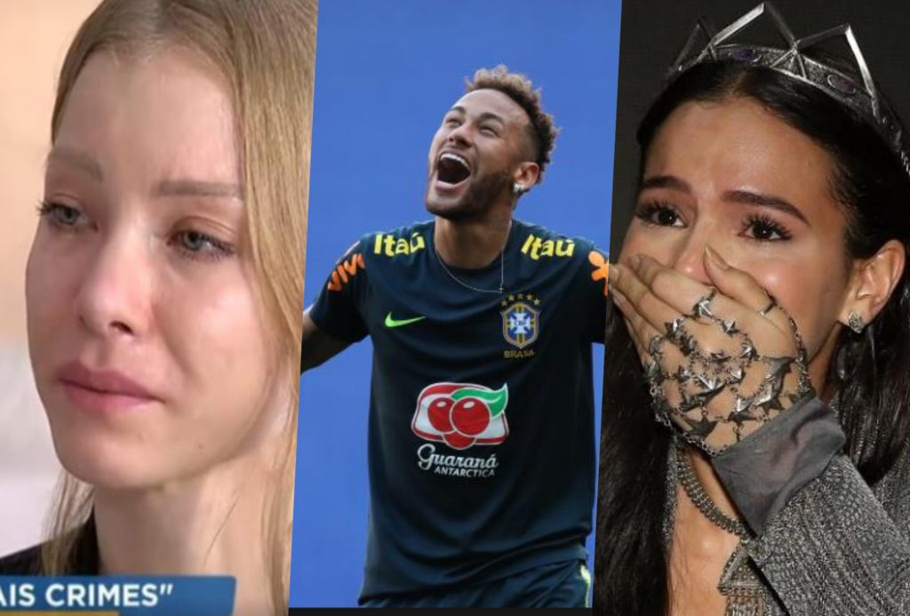 Neymar tem reviravolta em acusação de estupro de Nájila e Bruna Marquezine promove reviravolta