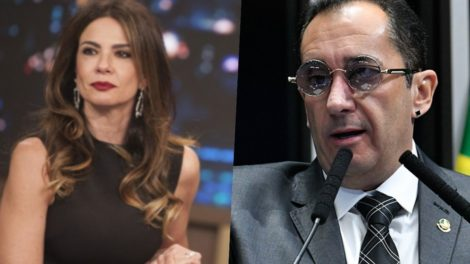 Jorge Kajuru x Luciana Gimenez.
