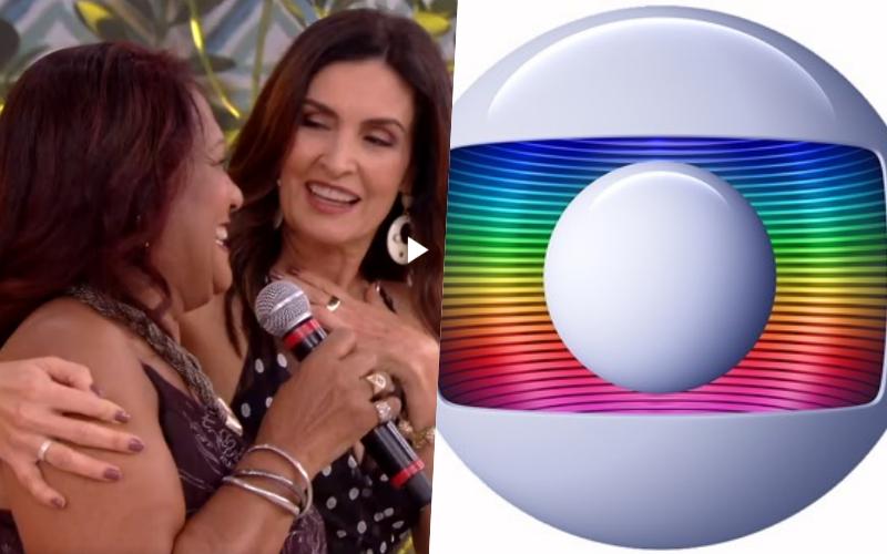 """Globo exibe beijo lésbico no encontro com Fátima Bernardes e fãs criticam: """"desnecessário"""" Foto: Reprodução"""