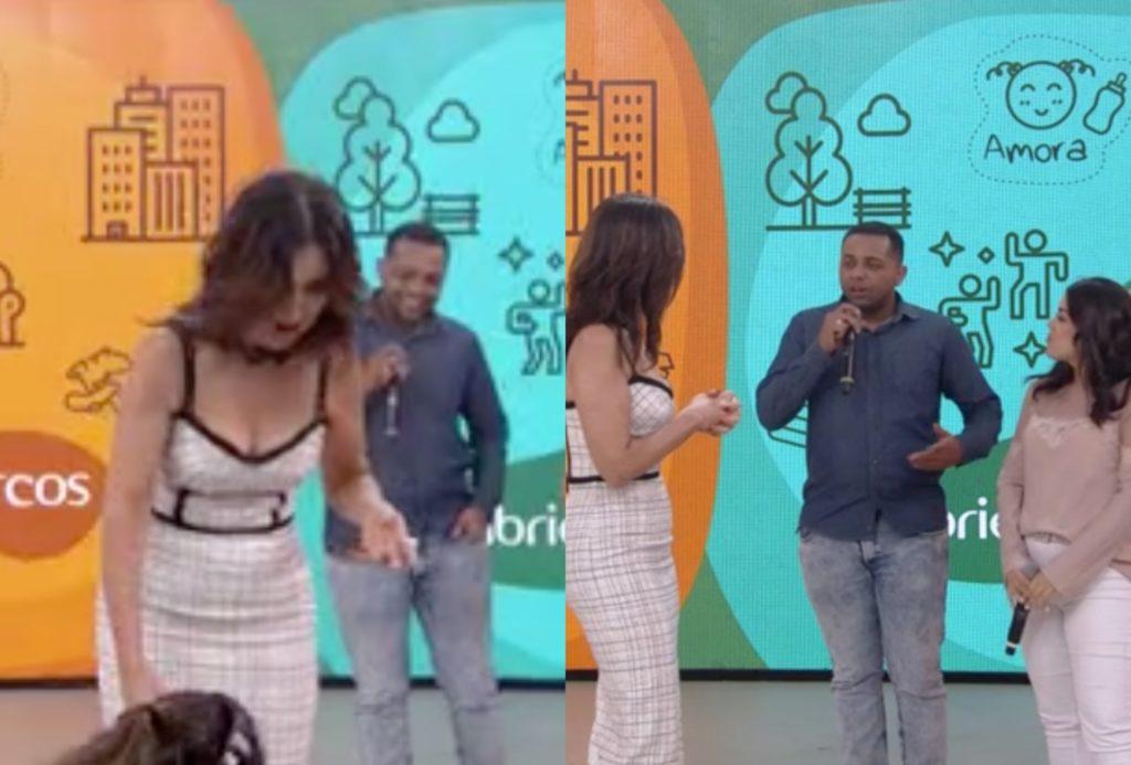 Fátima Bernades passou por gafe ao vivo no Encontro na Globo
