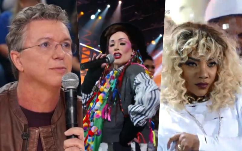 """Ludmilla surge irreconhecível no Show dos Famosos, Danielle Winits é humilhada e Boninho detona participantes: """"ódio se aprende"""" Foto: Reprodução"""