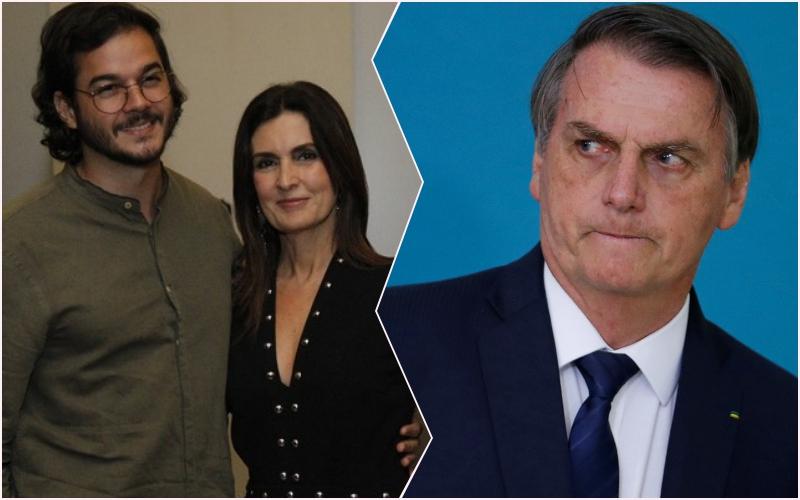 """Namorado de Fátima Bernardes, Túlio Gadêlha volta a atacar presidente Jair Bolsonaro: """"infrator"""" Foto: Reprodução"""