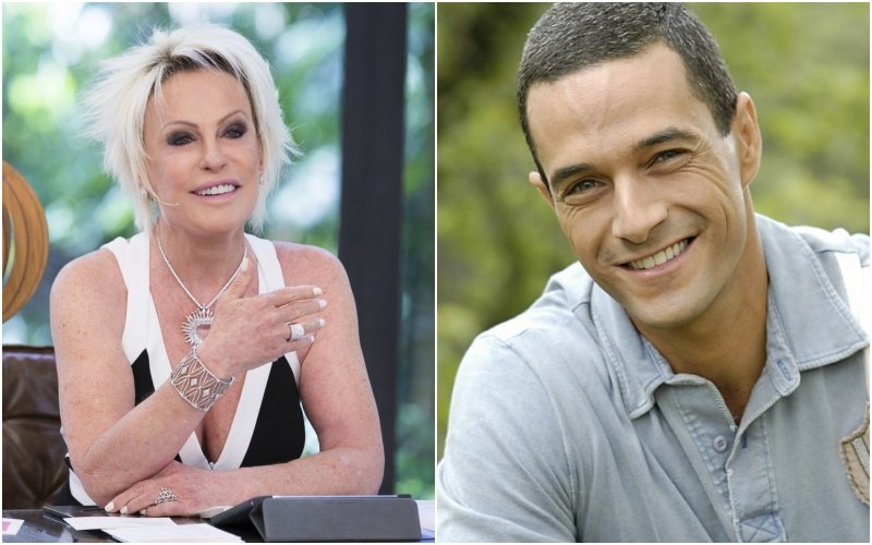 Apresentadora do Mais Você, da Globo, Ana Maria Braga constrange jornalista, Fabricio Battaglini ao vivo (Montagem TV Foco)