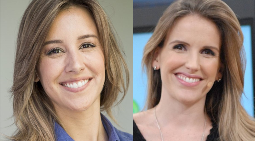 Ambas ex-Globo, Cris Dias e Mariana Ferrão estão na mira da CNN (Foto: Reprodução)