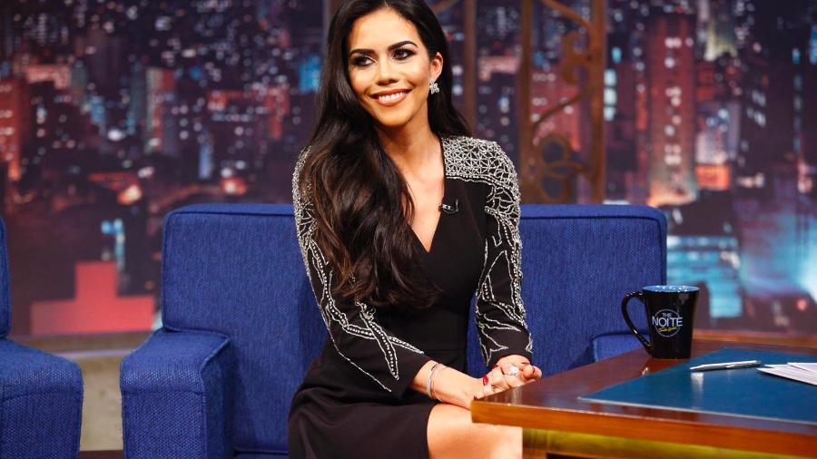 Daniela Albuquerque no SBT Foto: SBT