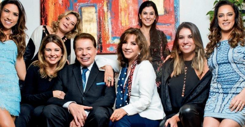 Silvio Santos é oficialmente pai de seis filhas (Foto: Reprodução)