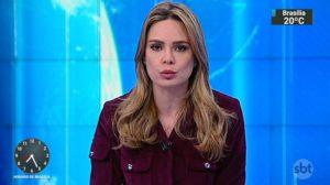 A apresentadora Rachel Sheherazade pode ser dispensada do SBT (Foto: Reprodução)