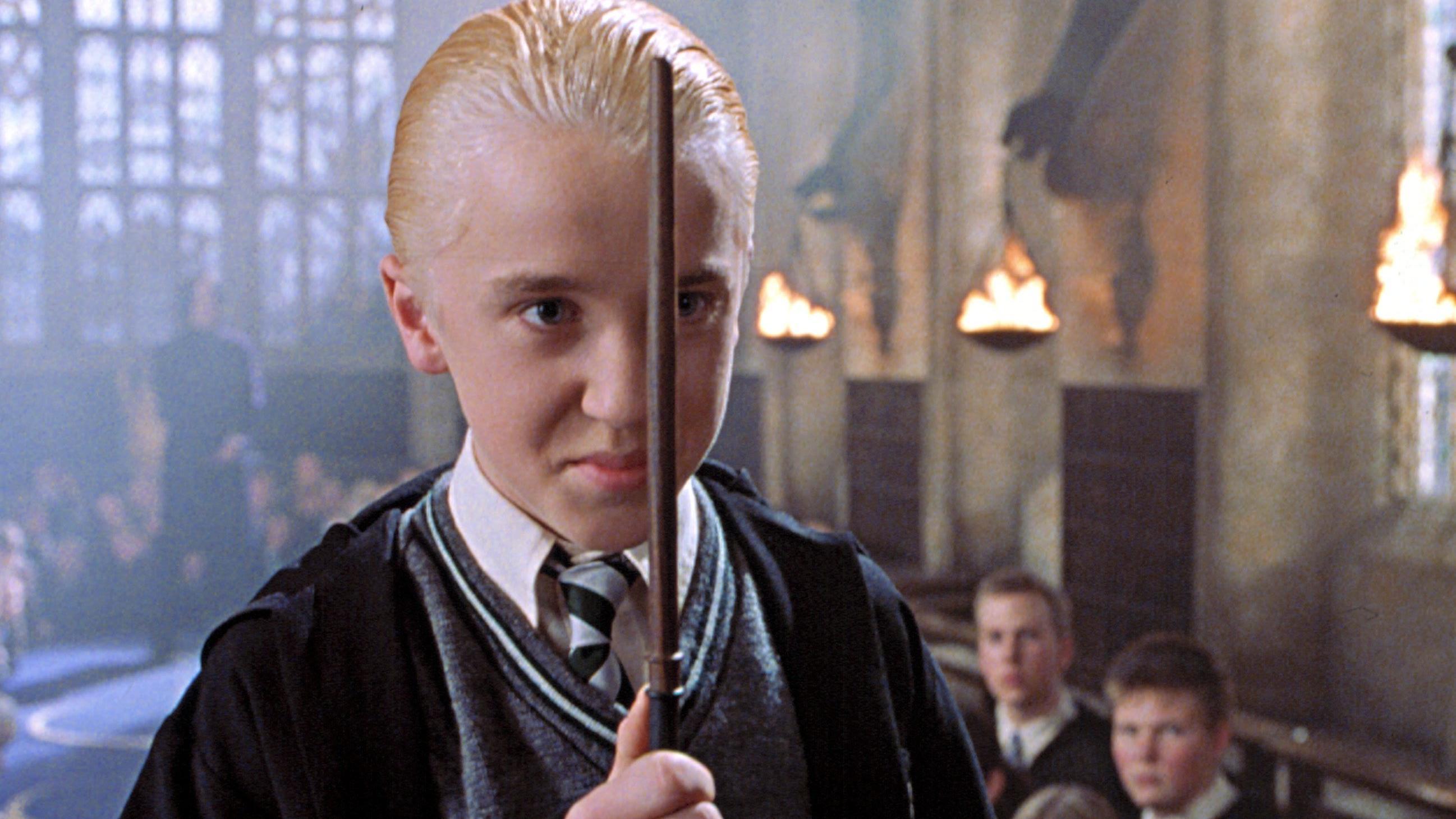 Ator Tom Felton em Harry Potter (Foto: Reprodução)