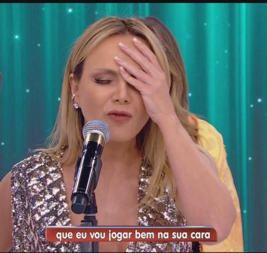 Eliana passa por grande gafe no Programa Silvio Santos do SBT (Foto: Reprodução)