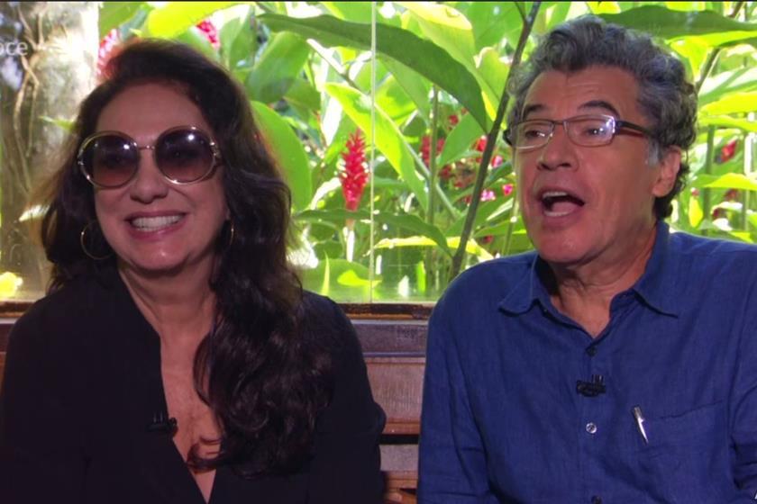 Eliane Giardini e Paulo Betti (Foto: Globo/Reprodução)