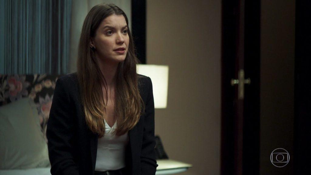 Fabiana descobre sinistro segredo em A Dona do Pedaço na Globo