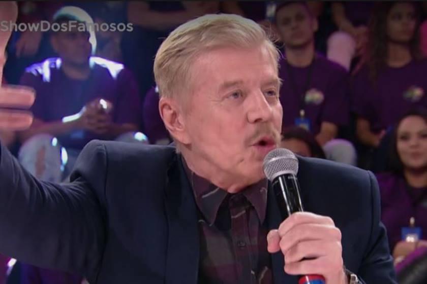 Miguel Falabella esnobou o forró ao elogiar Solange Almeida no Show dos Famosos (Foto: Reprodução)