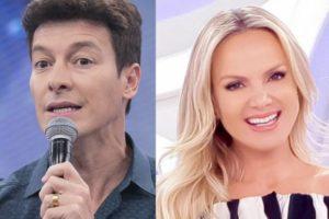 Rodrigo Faro é o maior concorrente de Eliana nas tardes de domingo da TV brasileira (Foto: Montagem)