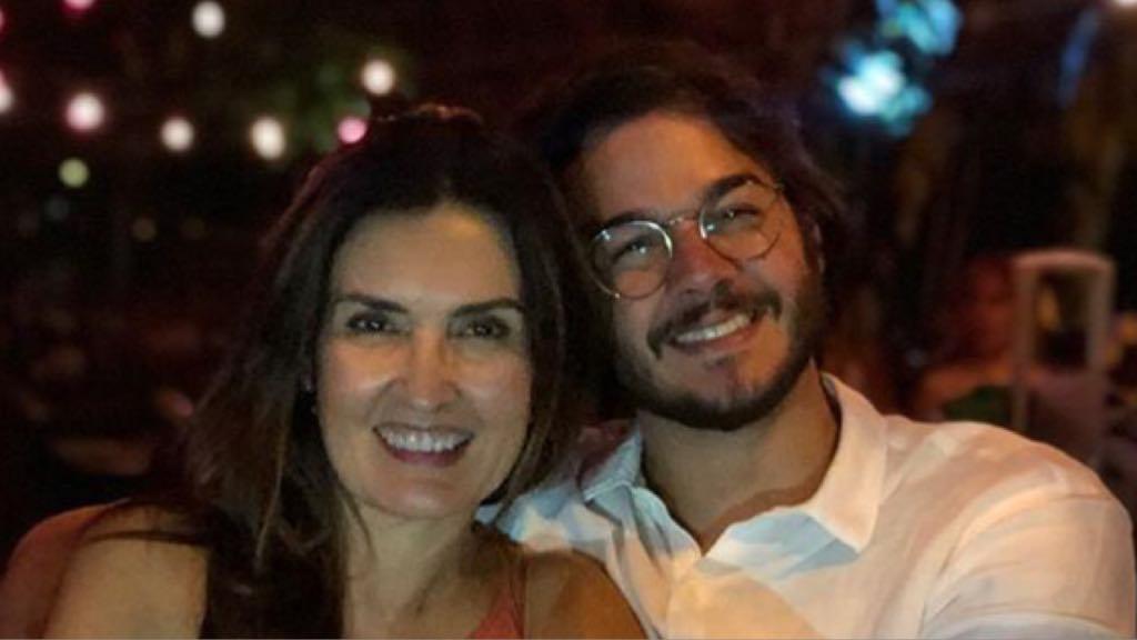A apresentadora do Encontro da Globo, Fátima Bernardes e ex-mulher de William Bonner, com seu namorado Túlio Gadelha (Imagem/ Instagram)