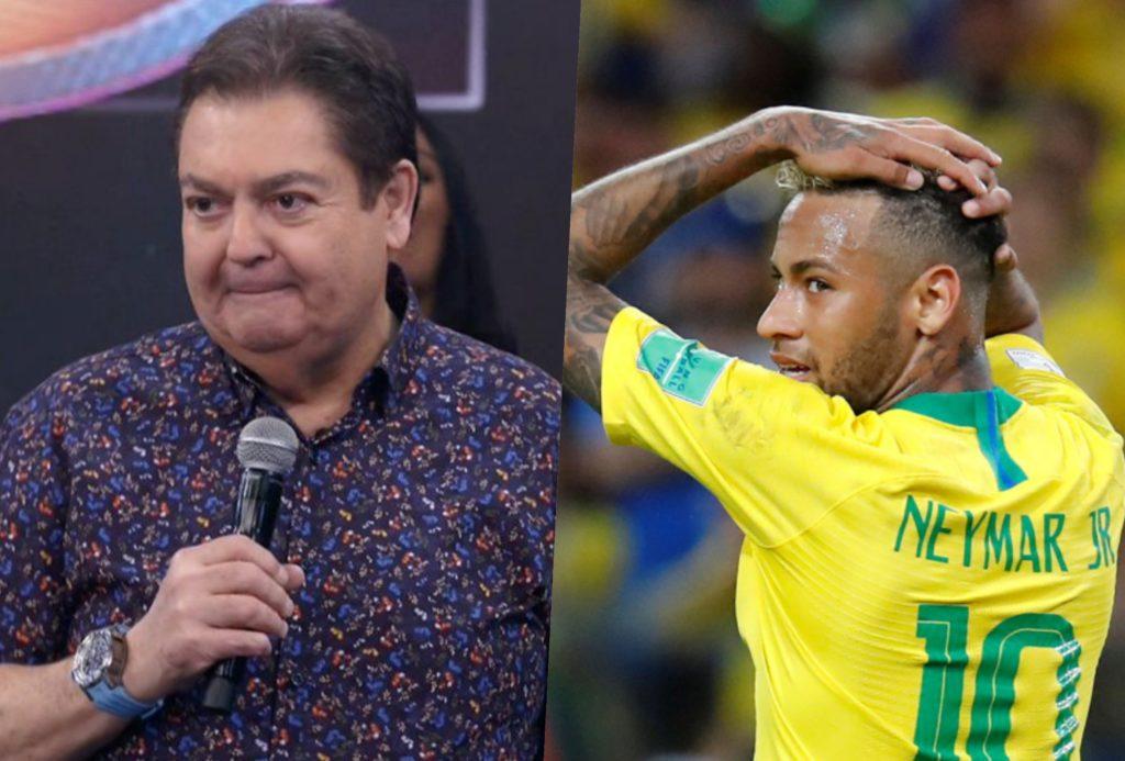 Faustão será cortado na Globo e Neymar traz prejuízos para a emissora