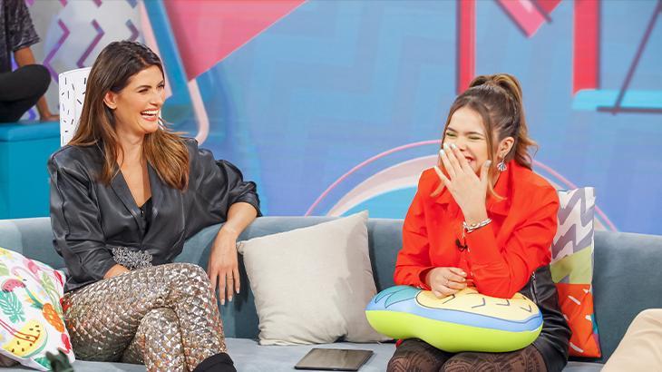 """Maisa recebe Isabella Fiorentino no SBT e apresentadora faz revelação bizarra sobre início da carreira: """"quando descobri foi um choque"""" Foto: Reprodução"""