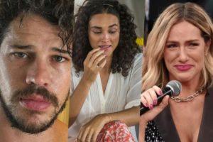 José Loreto e Débora Nascimento não conseguiram reatar o casamento e Giovanna Ewbank foi envolvida na história (Foto montagem: TV Foco)