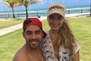 Karoline Calheiros, a namorada de Gabriel Diniz, fez mais uma homenagem ao cantor (Foto: Reprodução)
