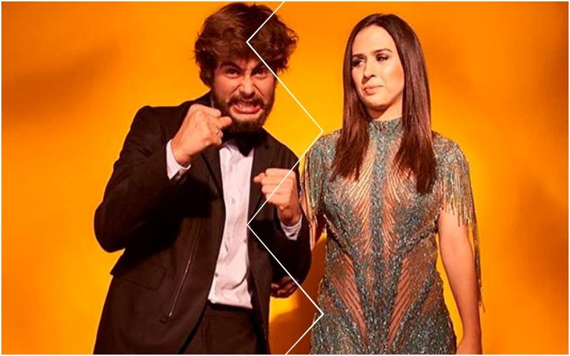 Tatá Werneck e Rafa Vitti tem briga feia por causa da filha, ator é colocado contra a parede e motivo é bizarro Foto: Reprodução