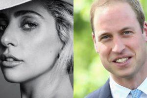A cantora Lady Gaga incentiva Príncipe William a ajudar jovens LGBTs desabrigados (Foto: Reprodução)