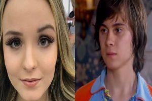 Larissa Manoela lamenta a morte do ator do SBT, Rafael Miguel (Montagem TV Foco)