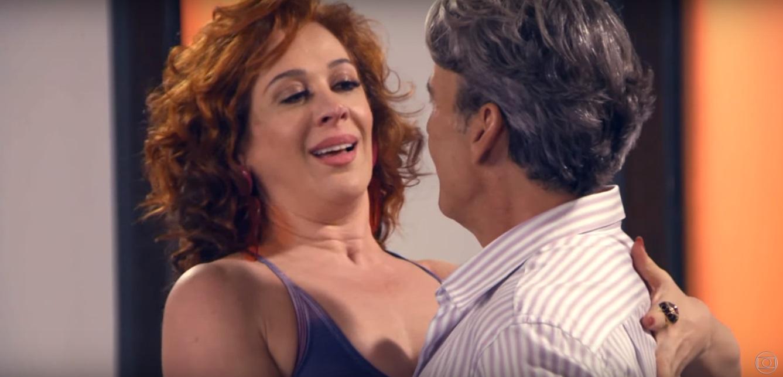 Lidiane (Claudia Raia) e Quinzão (Alexandre Borges) em Verão 90 da Globo