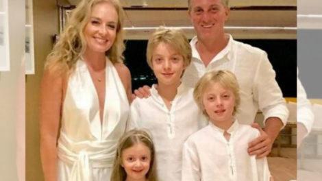 Luciano Huck, Angélica e os filhos (foto:Reprodução/Instagram)