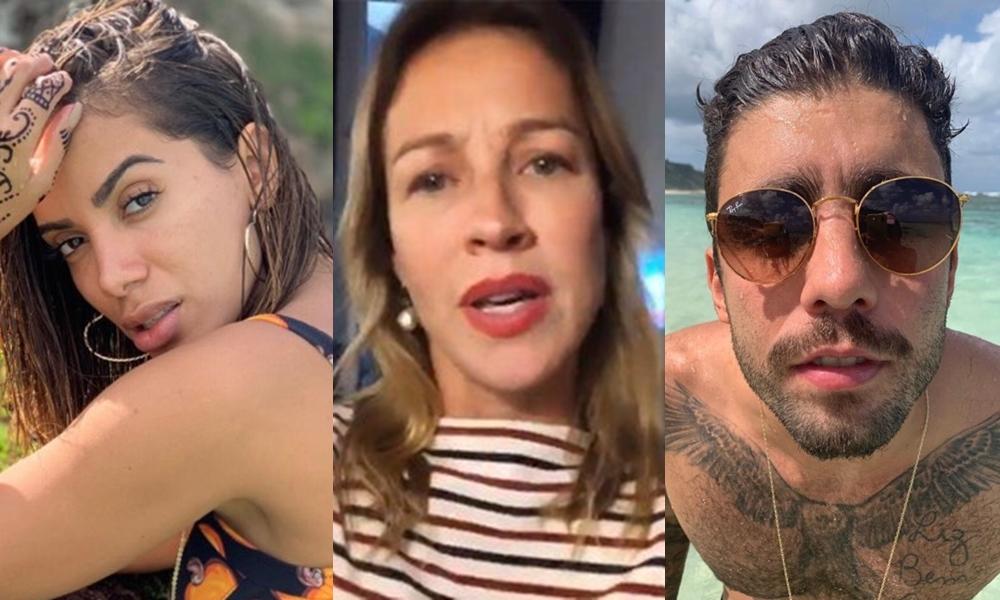 Anitta, atriz da Globo, Luana Piovani e Pedro Scooby (Foto: Divulgação)