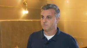 Vidente havia previsto acidente com o filho de Luciano Huck (Foto: Reprodução/Globo)