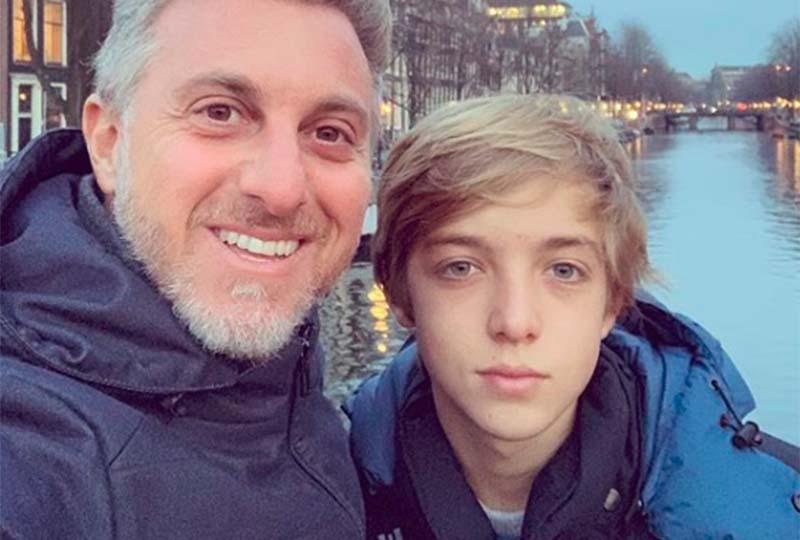 Joaquim, filho mais velho de Luciano Huck, está internado em estado grave (Foto: Reprodução)