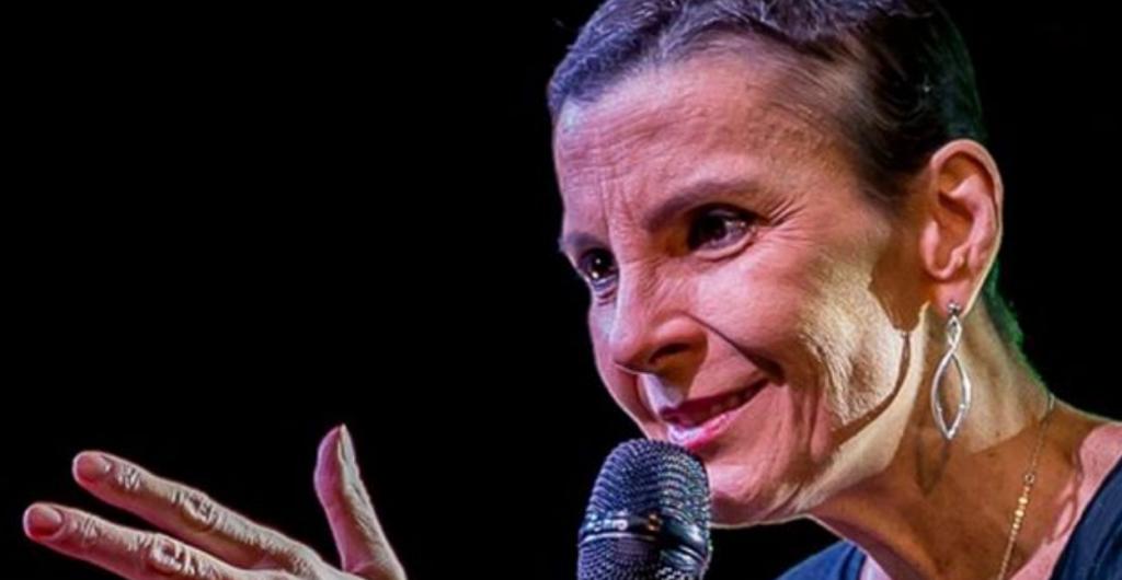 Ludmila Ferber luta contra o câncer de pulmão, fígado e ossos.(Foto: Reprodução)