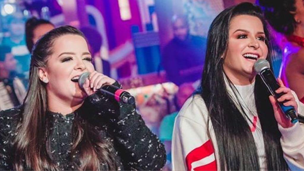 Maiara e Maraisa viram apresentadoras da Globo (Imagem: Instagram)