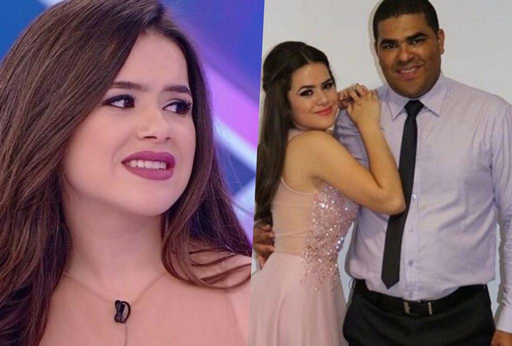 Pai de Maisa faz proibições em relação ao namoro da apresentadora do SBT
