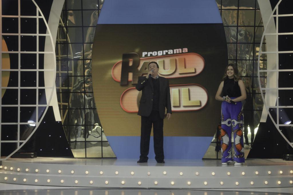 O antigo cenário do programa de Raul Gil na Record (Foto: Reprodução)