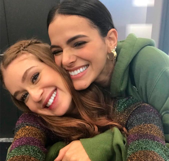 Marina Ruy Barbosa e Bruna Marquezine são atrizes da Globo que estrelaram a novela Deus Salve o Rei em 2018