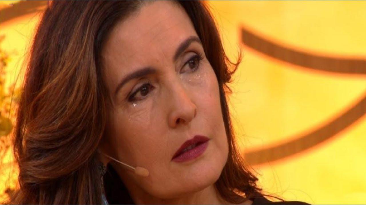 Fátima Bernardes apresenta o programa Encontro (Foto: Reprodução)
