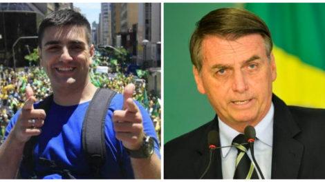 Mc Reaça foi homenageado por Jair Bolsonaro (Reprodução)