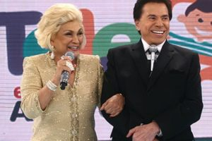 Silvio Santos e Hebe Camargo tiveram um romance no passado (Foto: Reprodução)