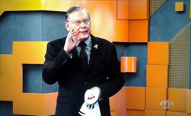 O jornalista Milton Neves (Foto: Reprodução)