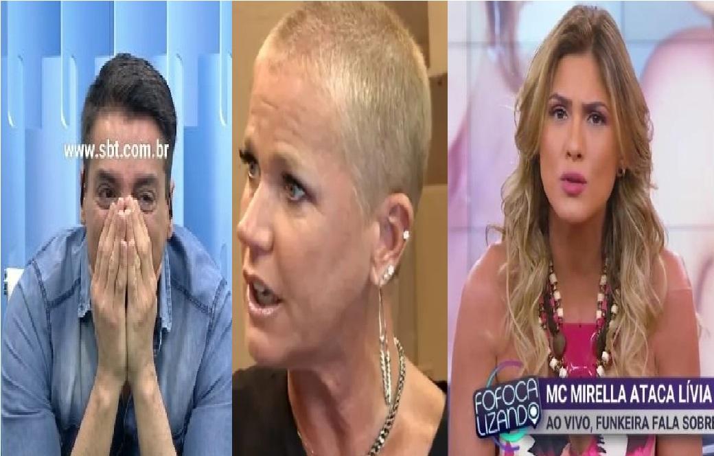 Leo Dias se muda da casa de Lívia Andrade e pode ir morar com a Xuxa (Foto: Reprodução)