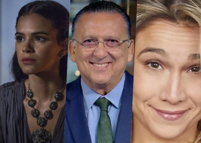 Bruna Marquezine e Juliana Paes pediram saída de Galvão Bueno em favor de Fernanda Gentil (Foto reprodução)