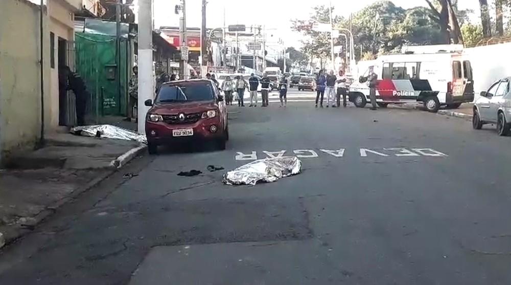 Uma foto do corpo do ator (Foto: Reprodução/Globo)
