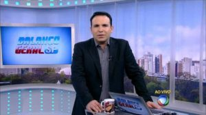 O apresentador da Record, Reinaldo Gottino (Foto: Reprodução)