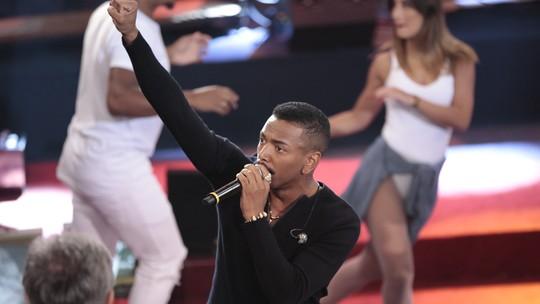 Nego do Borel esteve no Altas Horas e foi humilhado pela Globo (Foto: Reprodução)