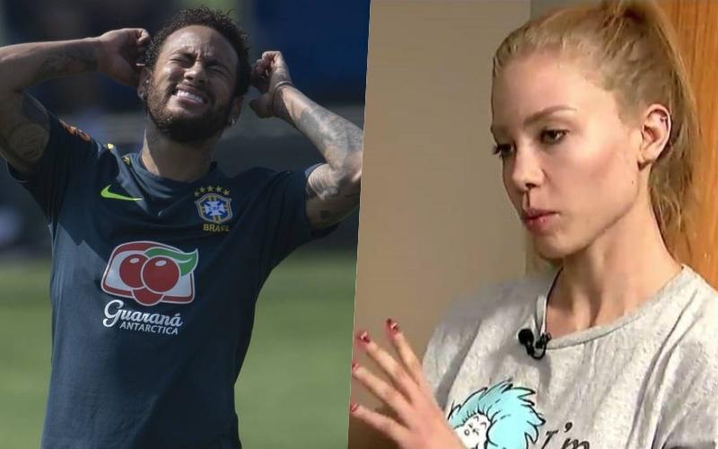 Najila Mendes afirma ter sido estuprada por Neymar (Reprodução)