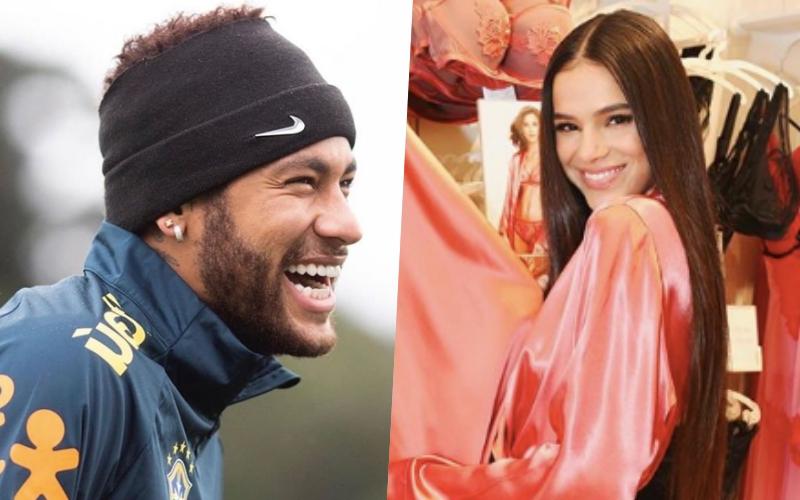 Bruna Marquezine teria terminado com Neymar por causa de Jair Bolsonaro (Foto: Reprodução)
