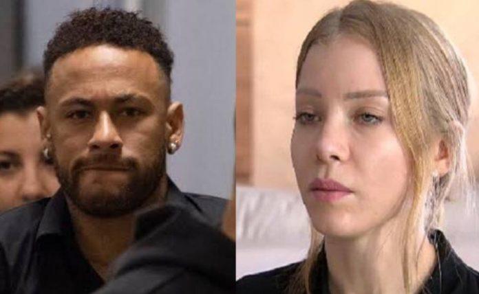 O Jogador Neymar e a modelo Najila Trindade (Montagem/ TV Foco)