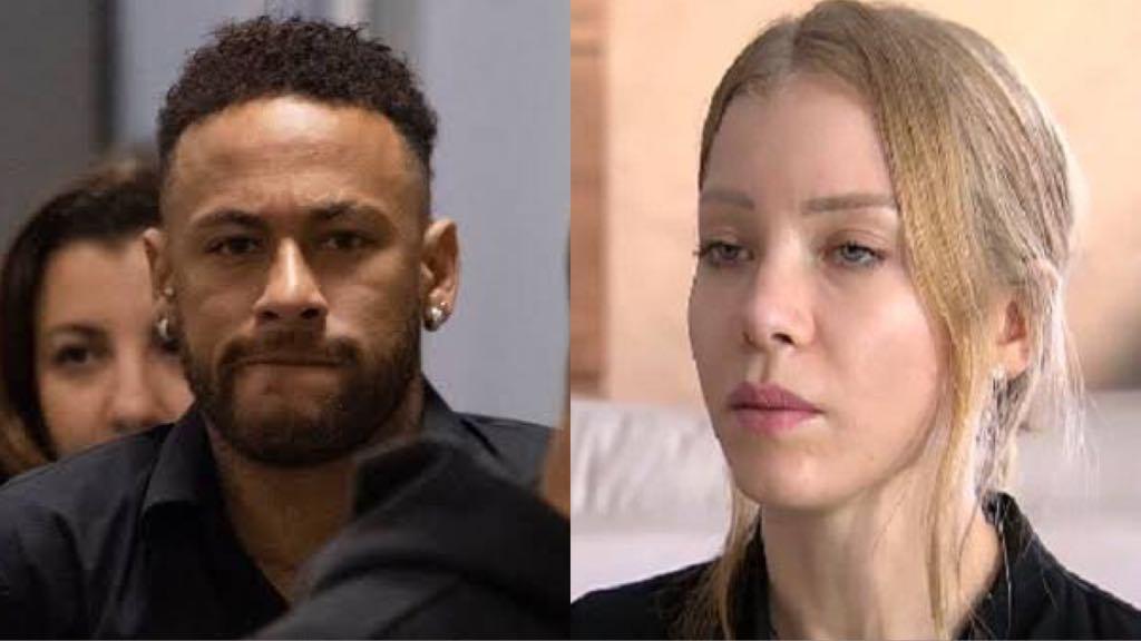 o jogador Neymar e a modelo, Najila Trindade (Foto: Montagem)