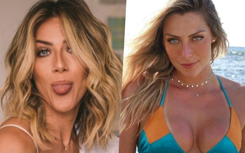 A esposa de Bruno Gagliasso, Giovanna Ewbank foi comparada a nova namorada de Andre Marques Foto: Reprodução